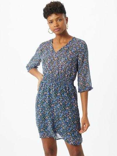JACQUELINE de YONG Kleid 'Anne' in blau / grün / rosa / schwarz, Modelansicht