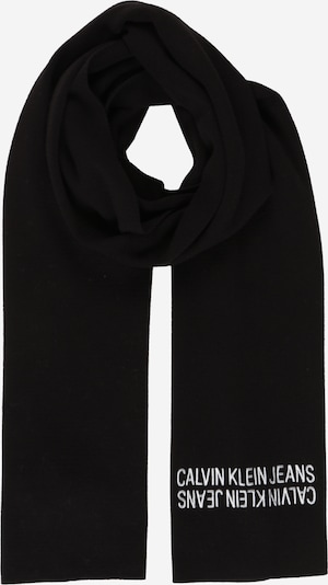 Calvin Klein Jeans Schal in schwarz / weiß, Produktansicht