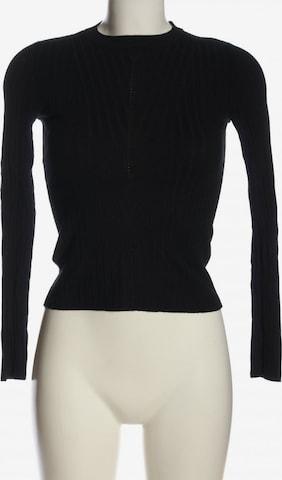 Bershka Sweater & Cardigan in S in Black