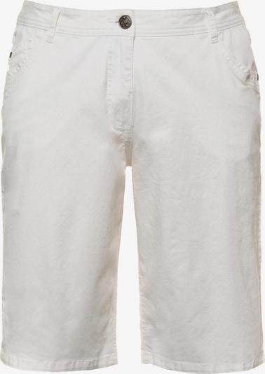 Ulla Popken Shorts in white denim, Produktansicht