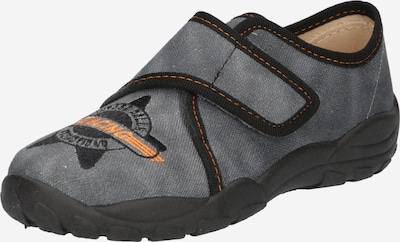ELEFANTEN Chaussure basse 'Pepe' en gris foncé / orange / noir, Vue avec produit