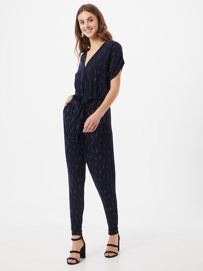 Freequent Jumpsuit in de kleur Blauw / Zwart, Modelweergave
