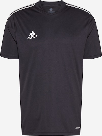 ADIDAS PERFORMANCE Camiseta de fútbol 'Tiro' en negro / blanco, Vista del producto