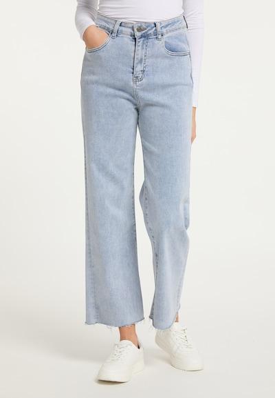 myMo NOW Jeans in hellblau, Modelansicht