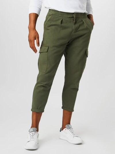 Redefined Rebel Pantalon cargo 'Jacob' en kaki, Vue avec modèle