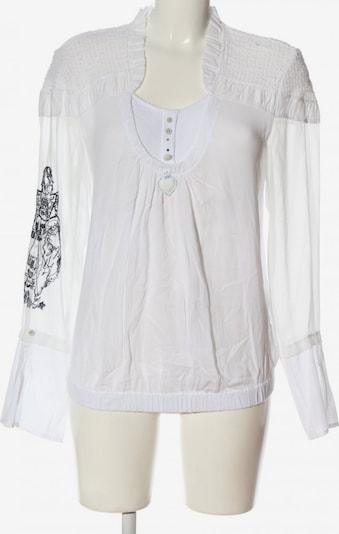 Elisa Cavaletti Langarm-Bluse in XL in schwarz / weiß, Produktansicht