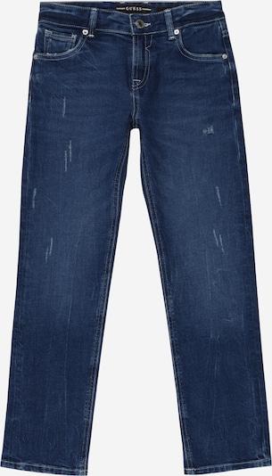 Jeans GUESS pe bleumarin, Vizualizare produs