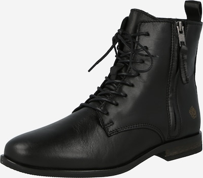Apple of Eden Lace-Up Ankle Boots 'Madonna' in Black, Item view