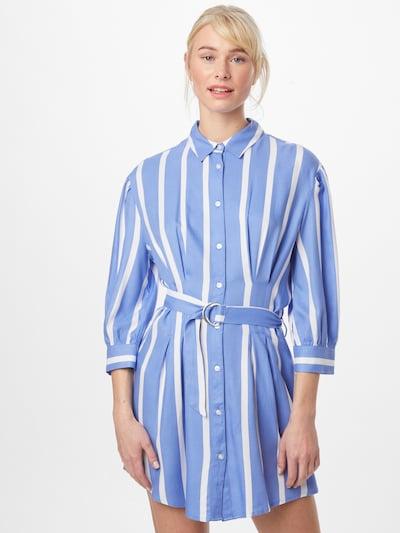 Tally Weijl Košilové šaty - světlemodrá / bílá, Model/ka