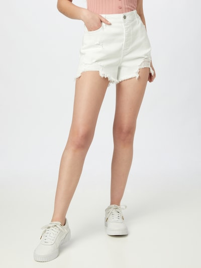 HOLLISTER Jeans in White, View model
