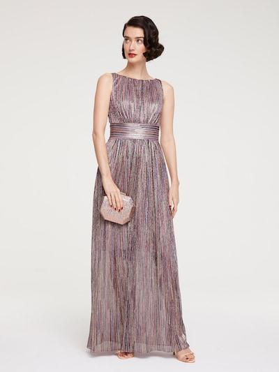 heine Společenské šaty - tmavě modrá / starorůžová / burgundská červeň, Model/ka