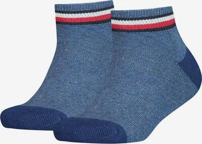 TOMMY HILFIGER Socken in dunkelblau / rot / weiß, Produktansicht