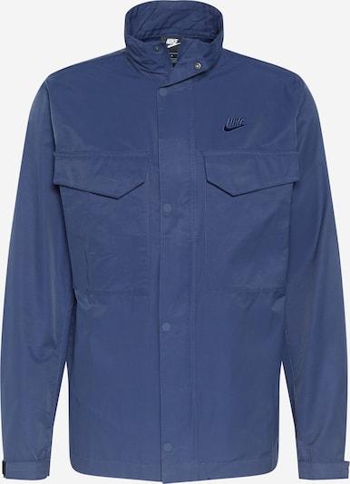 Geacă de primăvară-toamnă Nike Sportswear pe albastru închis, Vizualizare produs