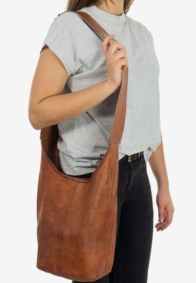 Gusti Leder Shopper Gusti Leder Josephine in braun: Frontalansicht