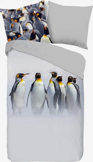 good morning BEDLINENS Bettbezug 'Jordy' in gelb / hellgrau / orange / schwarz / weiß, Produktansicht
