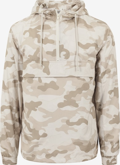 Urban Classics Jacke in beige / dunkelbeige / offwhite, Produktansicht