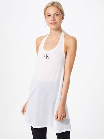 Calvin Klein Swimwear Rannakleit, värv valge