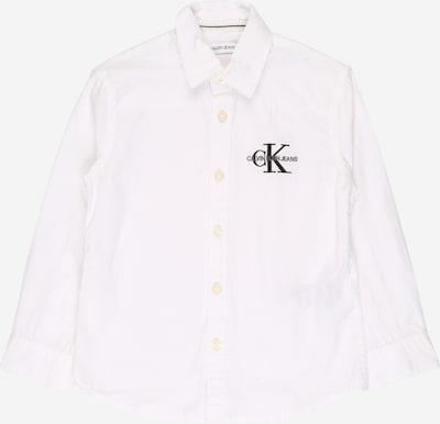 Calvin Klein Jeans Blúzka - čierna / biela, Produkt
