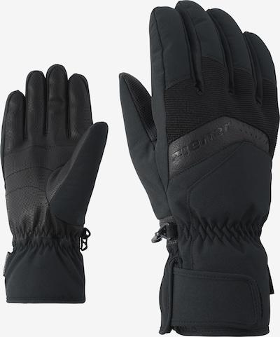 ZIENER Skihandschuhe 'GABINO glove ski alpine' in schwarz, Produktansicht
