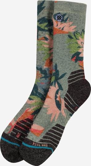 Stance Sportsokken 'WILLOW' in de kleur Grijs / Gemengde kleuren, Productweergave