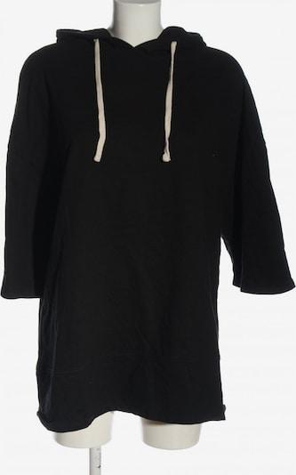 ZARA Kapuzensweatshirt in M in schwarz, Produktansicht