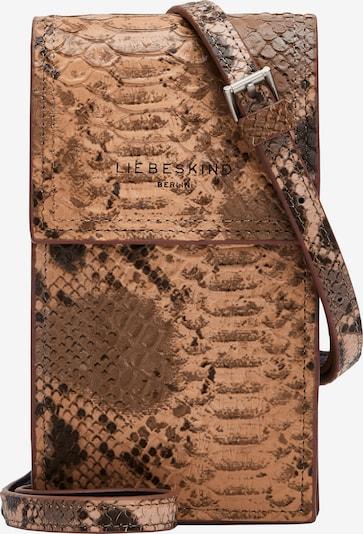 Custodia per smartphone 'Valentine' Liebeskind Berlin di colore cognac / marrone chiaro / marrone scuro, Visualizzazione prodotti