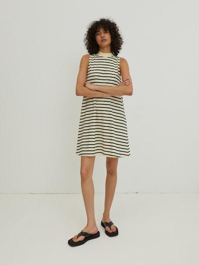 krém / fekete EDITED Ruha 'Aleana', Modell nézet