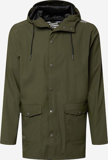 Weather Report Regenjacke 'Erik' in dunkelgrün, Produktansicht
