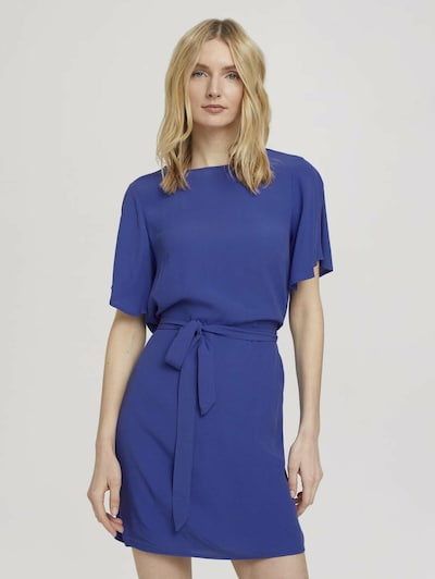 TOM TAILOR Kleid in royalblau, Modelansicht