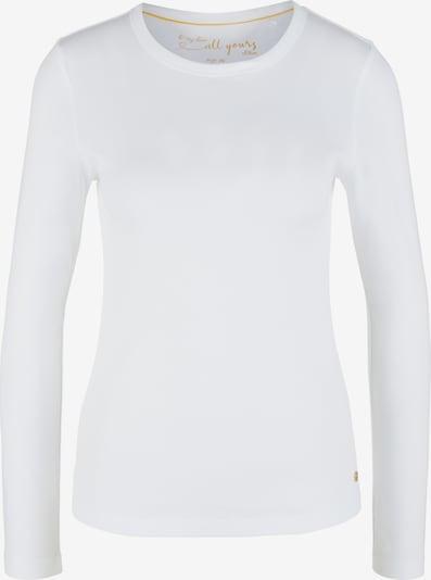 s.Oliver Shirt in weiß, Produktansicht