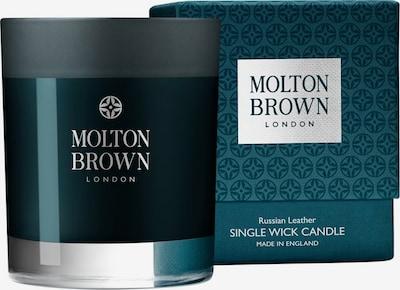 Molton Brown Kerze 'Russian Leather' in tanne / silber, Produktansicht