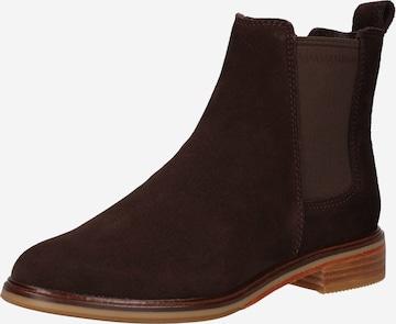 CLARKS Chelsea Boots 'Arlo' in Braun