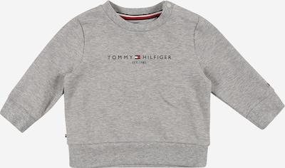 TOMMY HILFIGER Sweat en bleu marine / gris / rouge / blanc, Vue avec produit