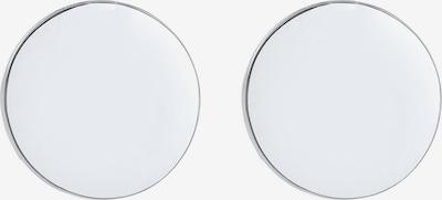 ELLI Ohrringe Geo, Kreis in silber, Produktansicht
