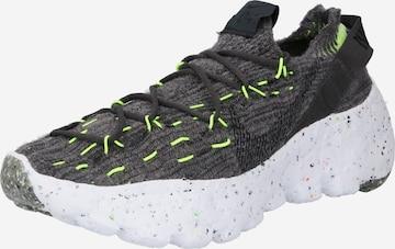 Nike Sportswear Ниски маратонки 'Space Hippie 04' в черно