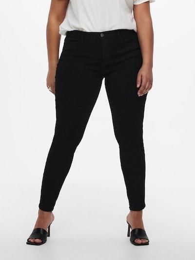 ONLY Carmakoma Jeans 'Carstorm' in de kleur Zwart, Modelweergave