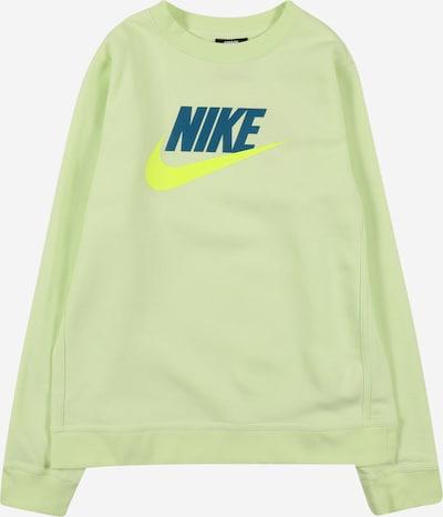 Nike Sportswear Sweatshirt 'FUTURA' in de kleur Geel / Petrol / Appel, Productweergave