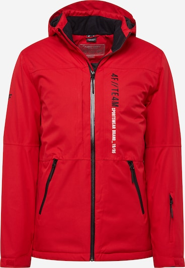 4F Outdoorová bunda - tmavě červená, Produkt