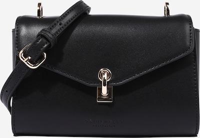 Seidenfelt Manufaktur Tasche 'Kisa' in schwarz, Produktansicht
