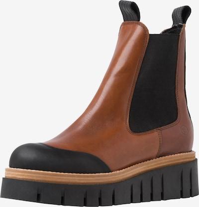 TAMARIS Chelsea Boots in Caramel / Black, Item view