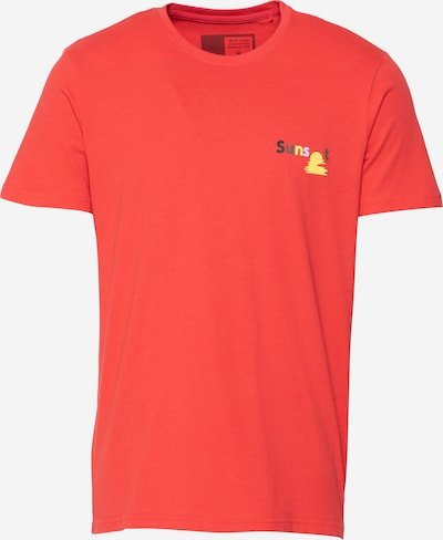 !Solid T-shirt i ljusgul / grön / ljusröd / svart / vit, Produktvy