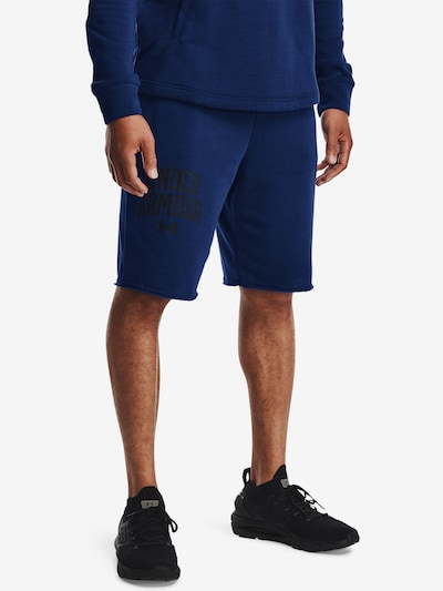 UNDER ARMOUR Sportbroek in de kleur Donkerblauw: Vooraanzicht