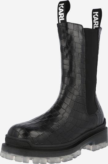 Karl Lagerfeld Stiefel 'BIKER II' in schwarz, Produktansicht