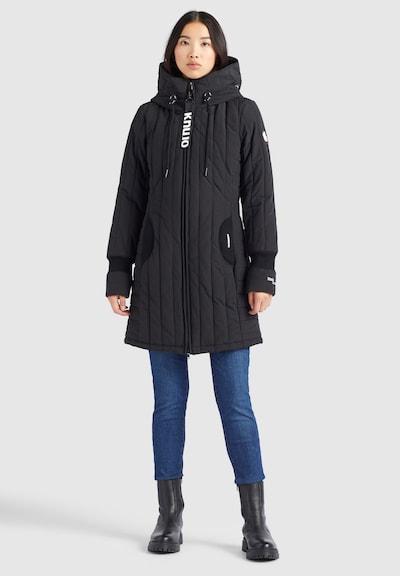 khujo Mantel ' JERRY PRIME4 ' in schwarz, Modelansicht