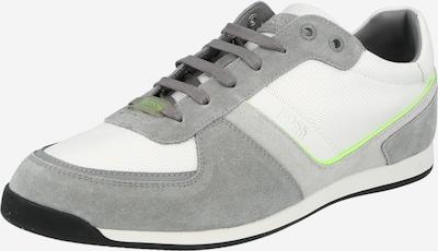 BOSS Casual Sneakers laag 'Glaze' in de kleur Grijs / Wit, Productweergave