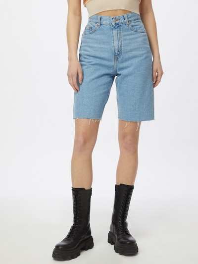 Dr. Denim Jeans in de kleur Blauw, Modelweergave