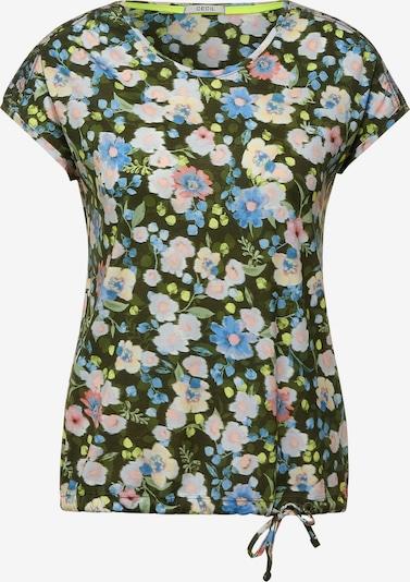 CECIL Camiseta en azul / amarillo / verde / rosa, Vista del producto