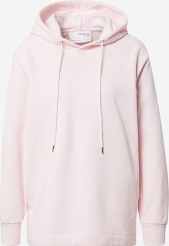 SELECTED FEMME Sweatshirt 'Stasie' i rosa