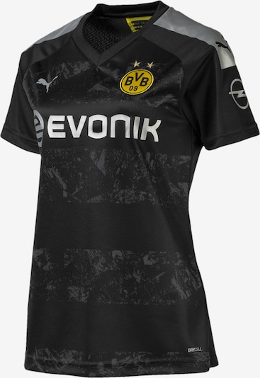 PUMA Auswärtstrikot 'BVB' in goldgelb / schwarz / silber, Produktansicht