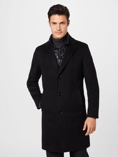 STRELLSON Mantel 'Baronz' in schwarz, Modelansicht
